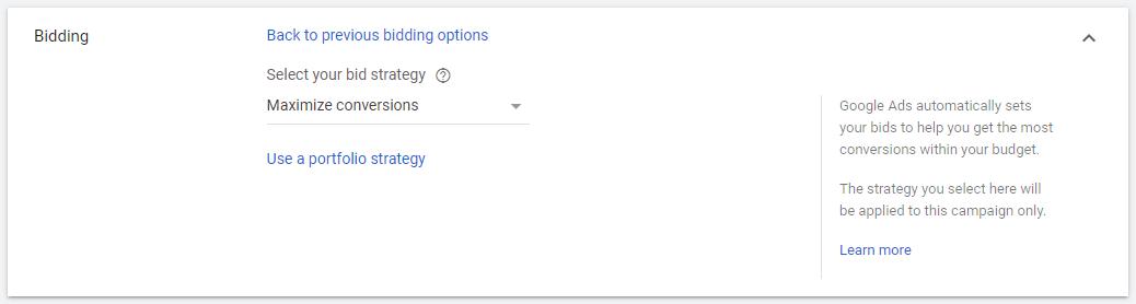 Estrategias Puja Google Ads